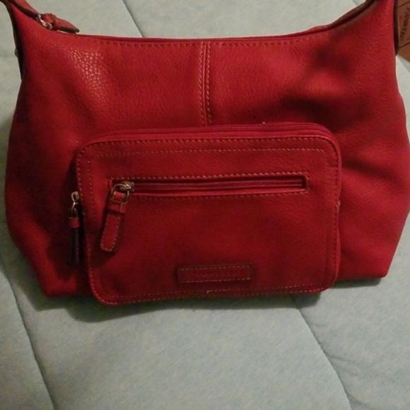 St. John's Bay Handbags - St johns bay handbag red with tags